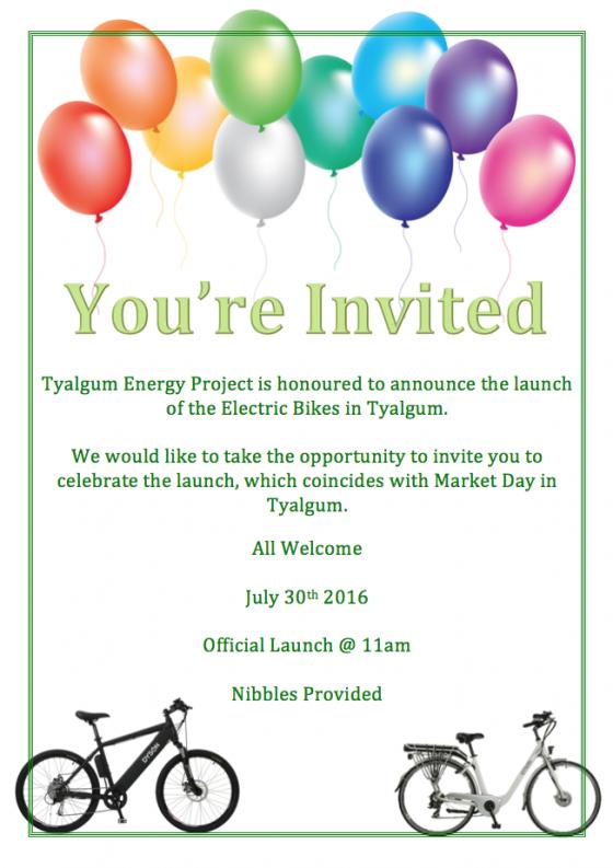 Electric bike launch 30 July 2016